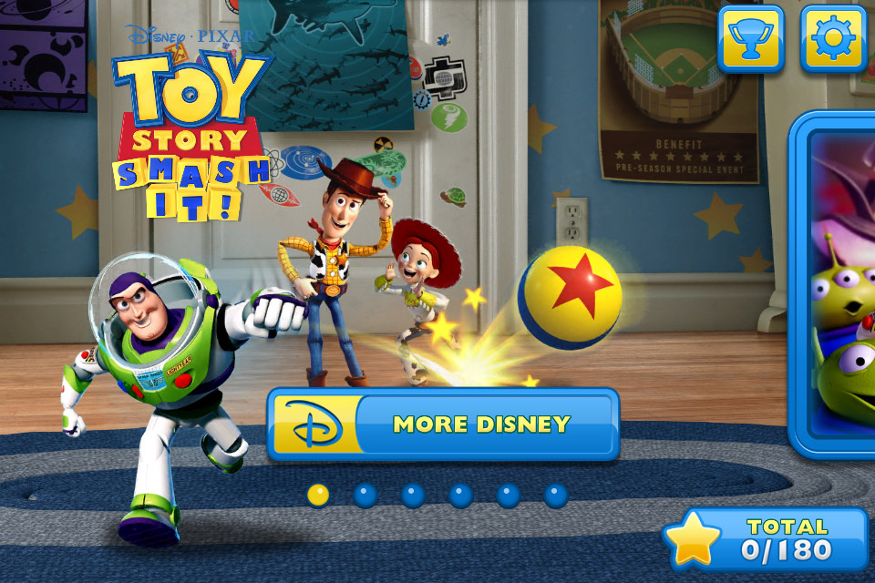 Toy Story: Smash It